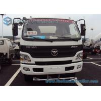 China Foton Aumark Stainless steel Water Tanker Truck 2 Axles 4 * 2 Drive 6000 L - 7000 L 115 hp wholesale