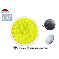 China Warm White 3500K Waterproof Pool Lights AC / DC 12V Base With Two 1.5m Length Wires wholesale