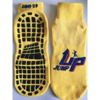 China China Wholesale Trampoline Type Socks/ Polyester Kids Sports Trampoline Socks/ Non Slip Yoga Socks Kids Trampoline Socks on sale