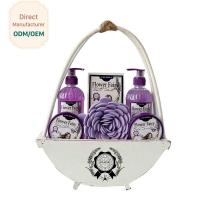 China Travel Home Spa Gift Set 24.5*5.5*15 Personal Bath Cleaning OEM Service wholesale