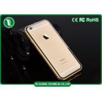 China Clear Acylic iPhone 6+ Metal Phone Cases / Iphone 6 Bumper Cover wholesale