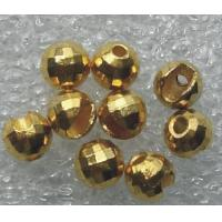 China tungsten slotted disco beads wholesale