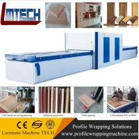 PVC Exterior Composite Doors vacuum membrane press machine