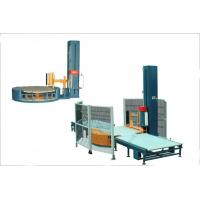 China Automatic pallet stretch wrappers shrink packaging equipment for industries Liquid food wholesale