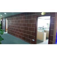 China Fireproof 3mm Thin Grey Artificial Slate Stone Soft Ceramic Tiles Exterior Wall Cladding on sale