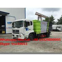 China 2019s best beller-factory sale dongfeng tianjin 10CBM road sweeping vehicle for sale, street sweeper cleaning truck wholesale