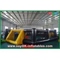 China PVC Seal Inflatable Soccer Field Kids Indoor / Outdoor Playground Equipment wholesale