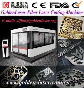 China Stainless Steel Laser Cutting Machine Fiber 500W 2000W wholesale