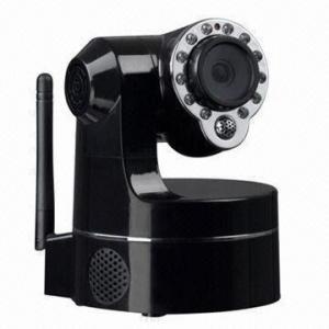 China Zoom Wireless Camera IP/PTZ Camera with 12LEDS, 30fps, IR Nightvision 10 Language Type wholesale