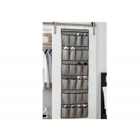 China 24 Large Pockets Cloth Over The Door Shoe Organizer wholesale