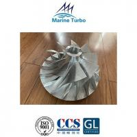 China T- MAN Turbocharger / T- NR14/S Compressor Impeller For Ship Engine Turbo Overhaul Parts wholesale
