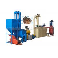 China CE Compliant Floating Fish Feed Pellet Production Line 380V / Custom Voltage Energy Saving wholesale