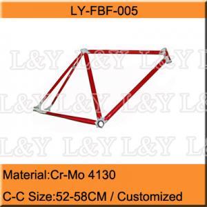 China 700C Chromoly Fixed Gear Bike Frame on sale