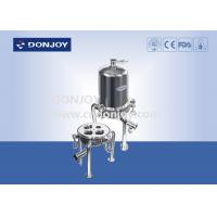 """China 30"""" Micro Pipeline Filter Stainless Steel Cartridge Housing 0.5T/H - 25T/H wholesale"""