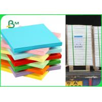 China FSC Yellow / Blue / Green Colored Offset Printing Paper For Stickey Notes 80gsm 120gsm wholesale