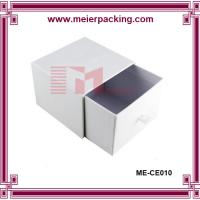 China Matte white printing drawer candle packaging box candle paper box with custom size wholesale