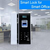 Buy cheap Office Entrance Glass Door Lock Five Ways To Unlock Long Battery Life Span from wholesalers