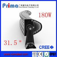 "China 31.5"" 180W Curved Led Light Bar- Double Row wholesale"