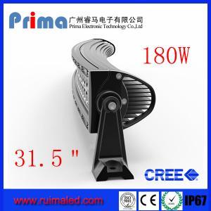 "China 31.5"" 180W Curved Led Light Bar- Double Row wholesale"