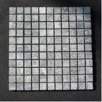 Buy cheap Indoor mosaic slate stone tile Black quartz surface fire home depot from wholesalers