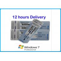 China Microsoft Windows 7 Product Key Codes Genuine OEM License activation online Upgrade win8.1 / win10 wholesale