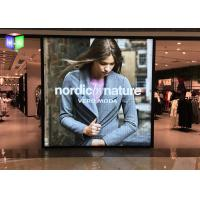 Quality Ultra Slim Advertising Fames Poster Light Box Displays / Sign For Shopping Mall for sale