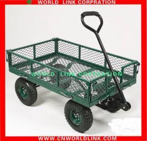 China 1100lbs four wheel tool steel wagon wholesale