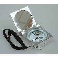 China Silver Color Survey Instruments' Accessories Geology Metal Handheld Compass wholesale