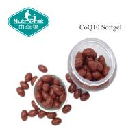 China Red Color CoQ10 softgel with 30mg/60mg/100mg for Heart Health Food/Contract Manufacturing wholesale