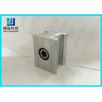 China Double Connector Aluminum Tubing fitting 6063-T5 Silvery Joints AL-6C wholesale