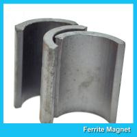 China Industrial Ferrite Arc Magnet For Treadmill Motor / Water Pumps / Dc Motor wholesale