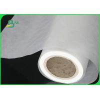 China White / Colored Glassine Paper Roll Food Grade 17GSM Jumbo Roll For Label Printing wholesale