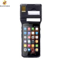 China 5'' Raypodo Personal Digital Assistant Android 5.1 2D Barcode Scanner PDA With Thermal Printer wholesale