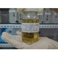 Buy cheap 99% Purity Boldenone Steroids Boldenone Undecylenate yellow liquid CAS NO 13103 from wholesalers