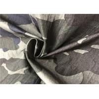 China Crease Resistant Graphic Print Fabric , Light Breathable Camouflage Print Fabric wholesale
