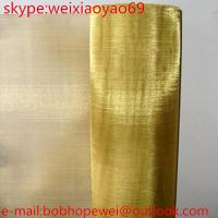 Brass Wire Cloth/Copper Wire Mesh Manufactures