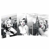 China Marilyn Monroe Picture 3D Lenticular Flip / 3D Lenticular Photo Opp Bag Packing wholesale