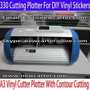 China 330 Vinyl Cutter Mini Cutting Plotter A3 Vinyl Sign Cutter Plotter Desktop Letter Cutter wholesale