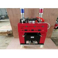China Red Shell Polyurethane Spray Machine 1 / 1 Standard Raw Material Mix Proportioning wholesale