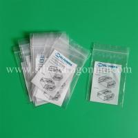 China custom printed plastic PE ziplock bags wholesale