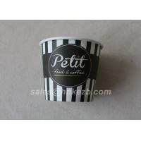 China 14oz 12oz Printed Single Wall Paper Cups Made of 3 Layers of Paperboard wholesale
