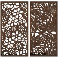 China Rusty Surface Finished Laser Cut Corten Steel For Boiler Plant 3.0mm Thickness wholesale