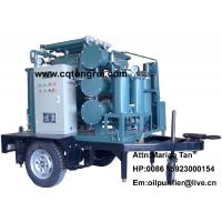 China Mobile Multi-functional transformer oil Purifier machine to remove deep oxide free carbon on sale