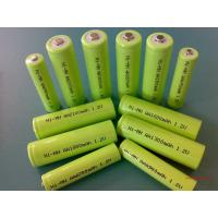 China Green 1.2V DVD NIMH Rechargeable Battery AA 2700mAh With ROHS wholesale