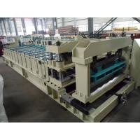 China Steel Rollers Step Tile Roll Forming Machine Automatic for Metal Tile wholesale