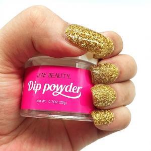 China thermo nail powder acrylic nail glitter powder organic dipping powder for nail wholesale