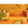 China Training Room Folding Divider Walls , Folding Wall Panels For Home Studio Recording wholesale