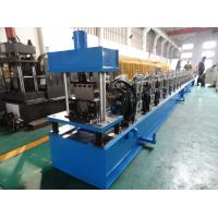 China High Front Quad Gutter Making Machine For Galvanized Steel / Aluminium / Copper Material wholesale