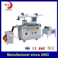 China Professional Full Automatic Die Cutting Machine , Adhesive Tape Cutter Machine on sale