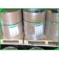 China White Grey / Gray Cardboard Paper Roll 1.0mm - 1.5mm Gsm For Box Making wholesale